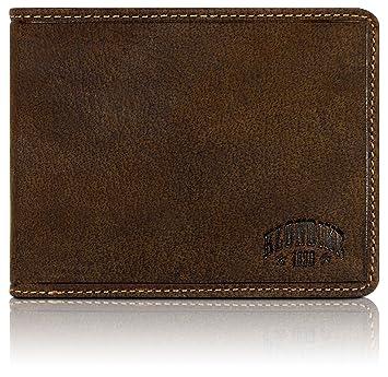 Klondike 1896® cartera de cuero auténtico en formato horizontal Peter | robusta billetera