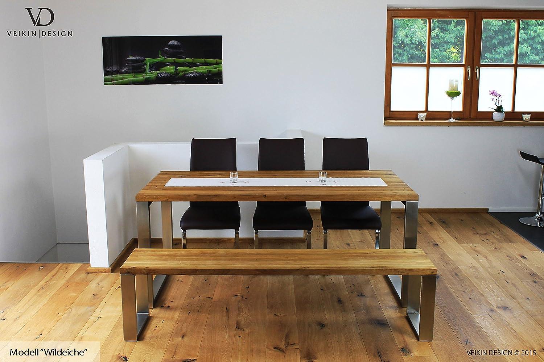 Wohndesign Tolles Moderne Dekoration Massivholz Esstisch Gruppe 4 ...