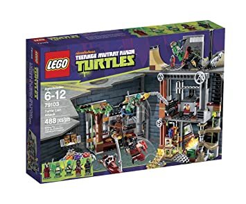 LEGO Teenage Mutant Ninja Turtles Ataque a la Guarida de Las ...