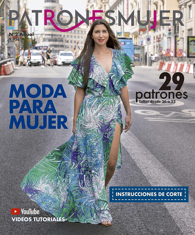 Revista PATRONESMUJER nº2. 29 patrones de ropa para mujer. Tallas ...