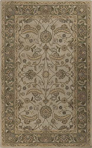 Surya Caesar CAE-1114-69 Hand Tufted Wool Classic Area Rug, 6-Feet by 9-Feet