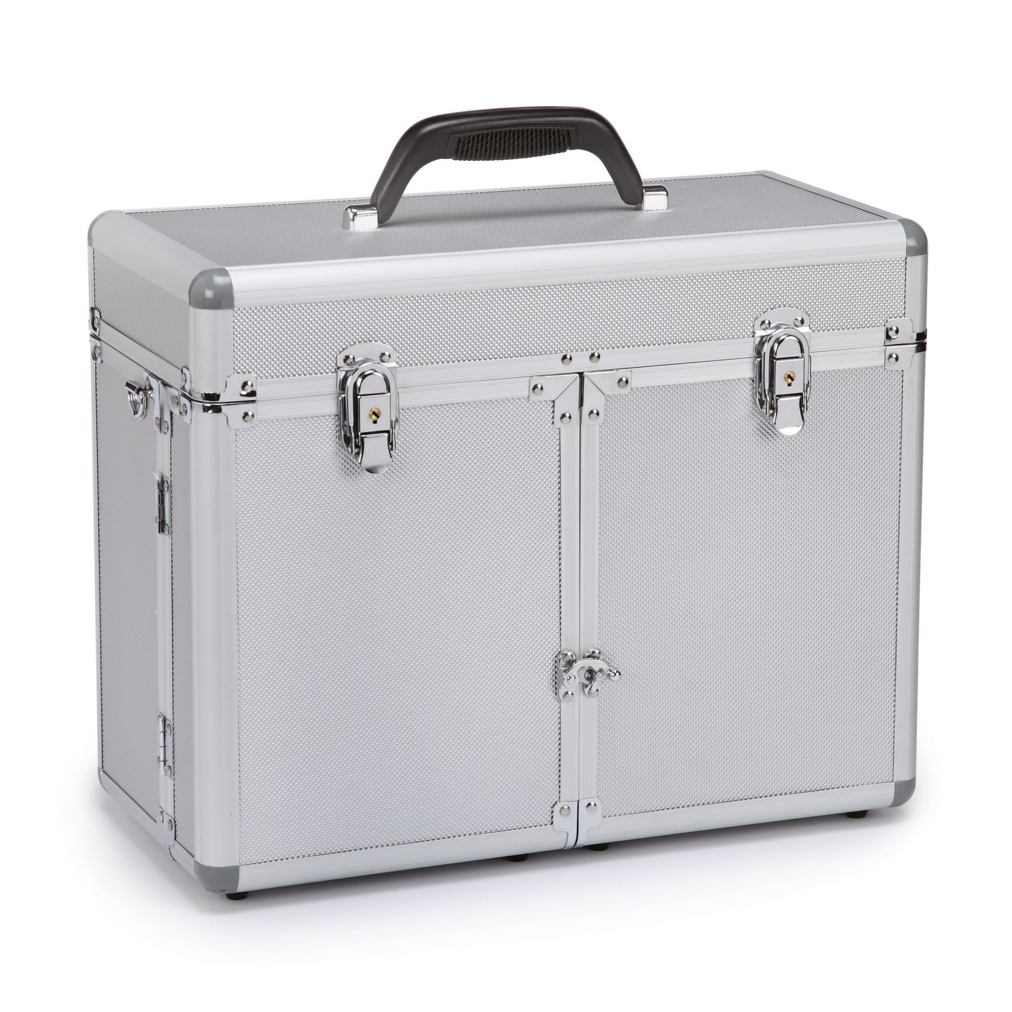 Top Performance Professional Grooming Tool Cases - Durable and Versatile Aluminum Cases Designed for the Storage of Grooming Tools and Supplies for the Professional Pet Groomer, Chrome by Top Performance
