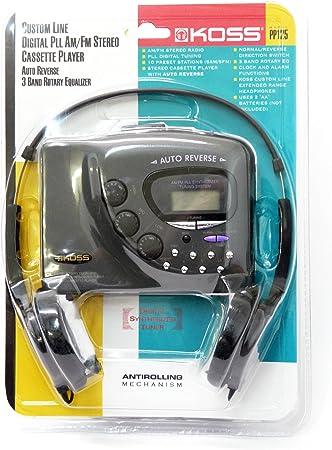 Amazon.com: KOSS pp125 Personal Reproductor de Casete ...