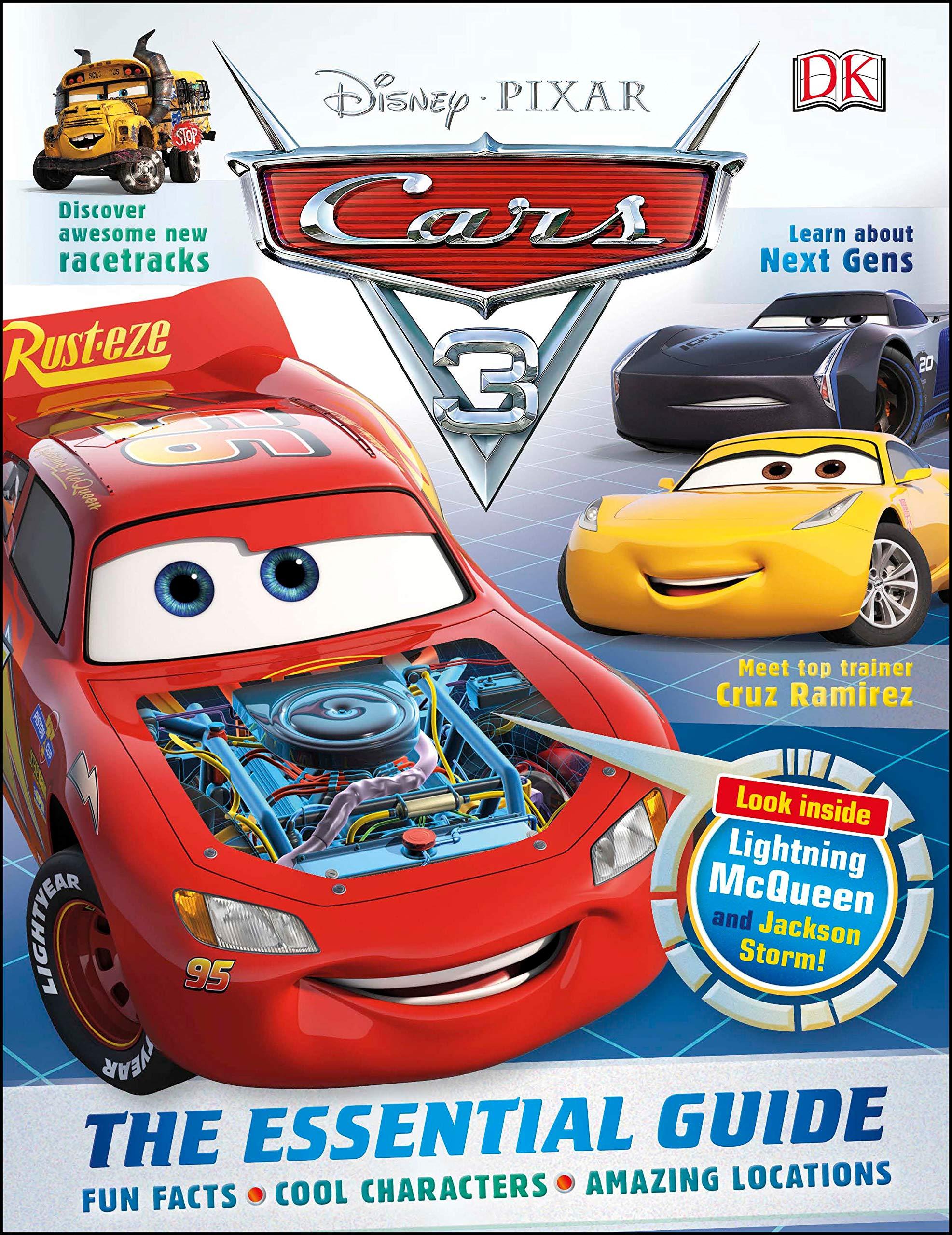 Disney Pixar Cars 3 The Essential Guide Dk 9781465455598