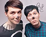 "Dan and Phil Reprint Signed 11x14"" Poster Photo"