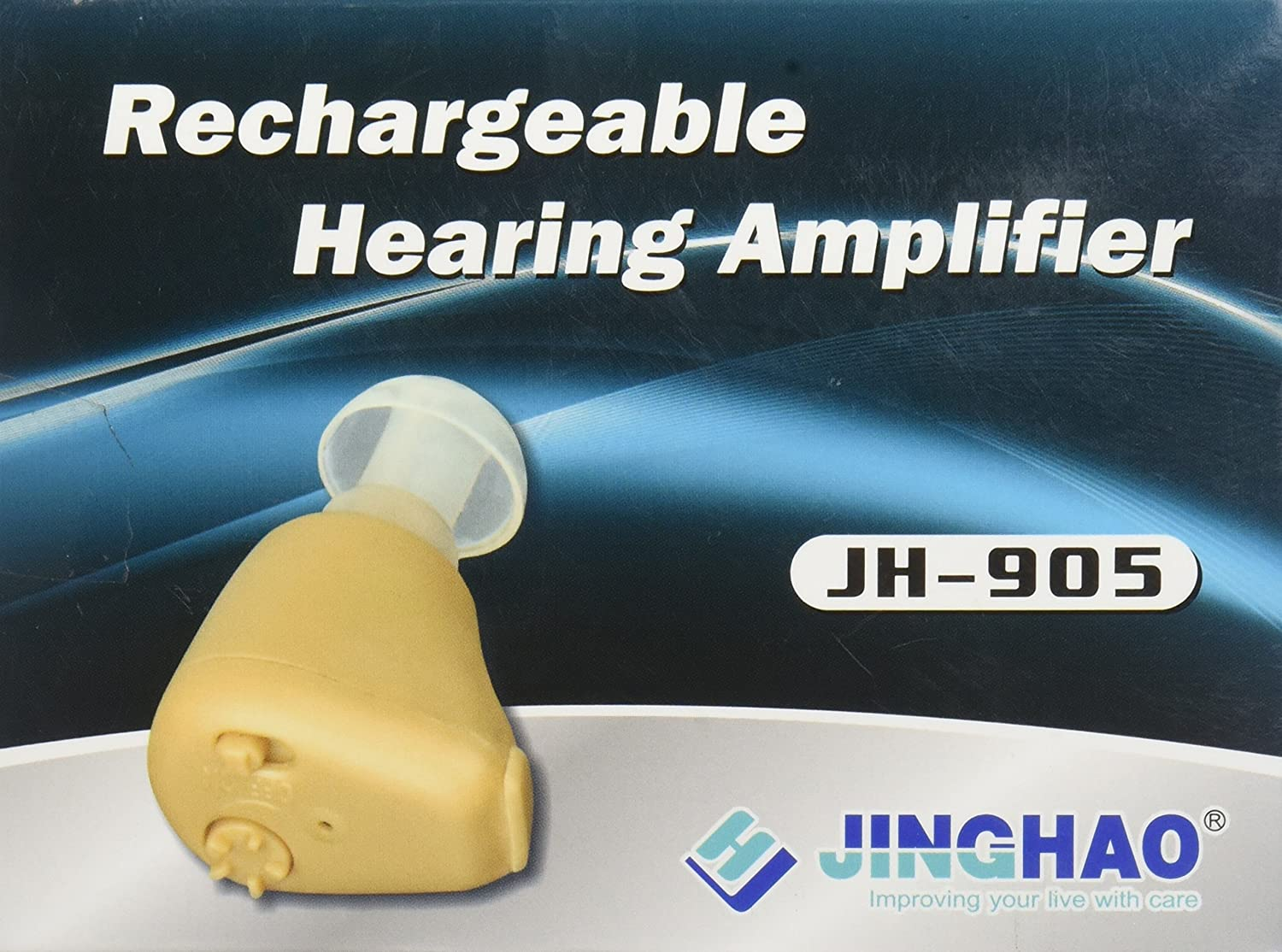 Dannys World Rechargeable Hearing Amplifier Health Living Aids Amplifiers Accessories Personal Care