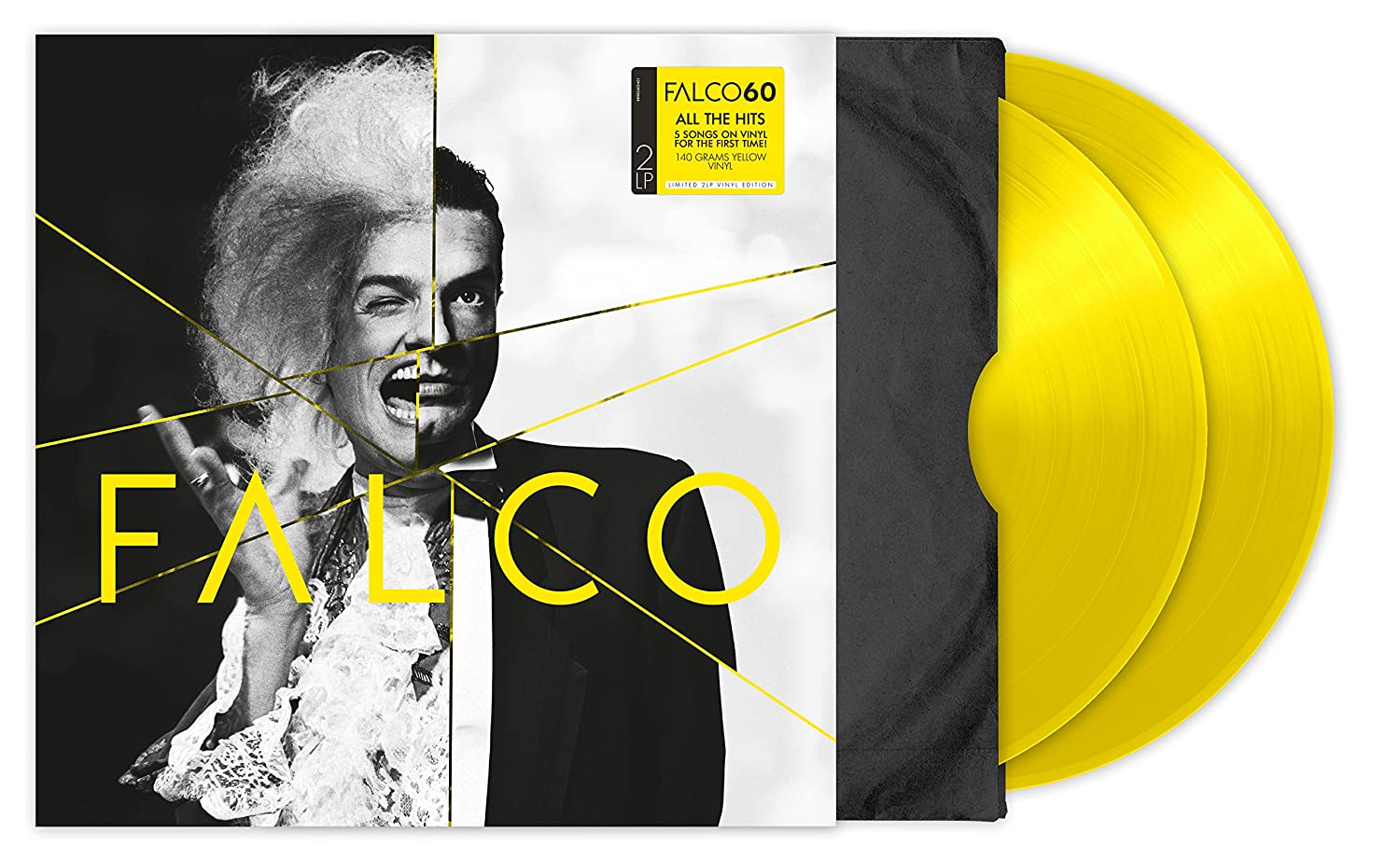 Falco 60 2LP [Vinyl LP] Falco Amazon Musik