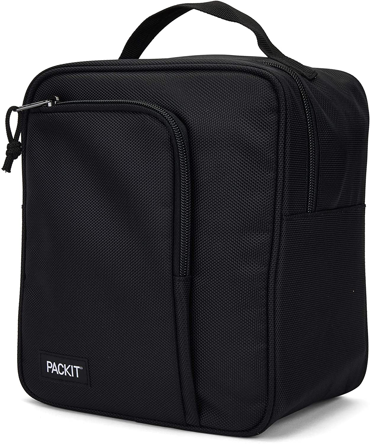 PackIt Freezable Commuter Large Cooler Lunch Box, Black