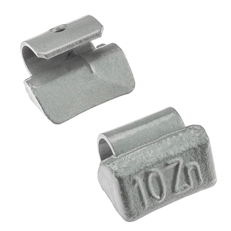 5-35 g, contrapesos de Zinc, Aluminio, para Llantas y Pesos de Zinc Juego de Pesas de percusi/ón Stix 175x