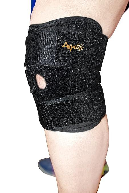 Rodillera Deportiva de Neopreno Ajustable - Rodillera Ortopédica Terapéutica para aliviar y prevenir lesiones. Rodillera