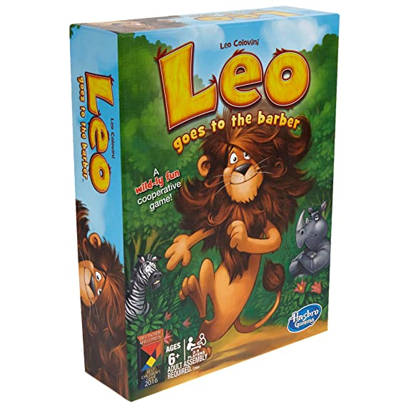 Amazon.com: Juego de mesa Leo Goes to the Barber (idioma ...