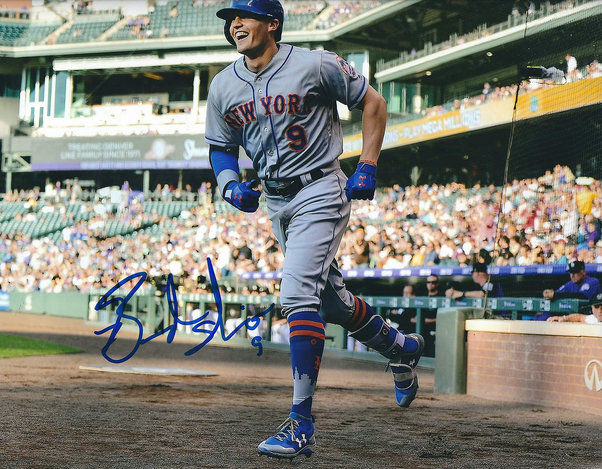 AUTOGRAPHED Brandon Nimmo New York Mets 8X10 photo
