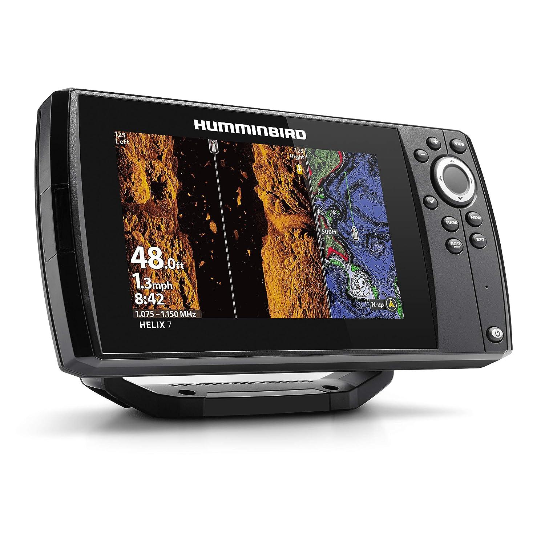 Humminbird 410950-1NAV Helix 7 Fishfinder Chirp MSI GPS G3 with Navionics +  Card