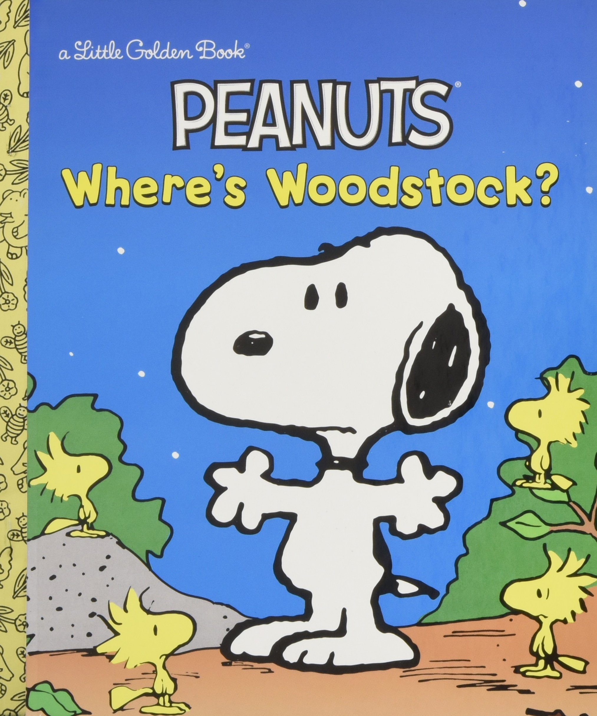 where u0027s woodstock peanuts little golden book margo lundell