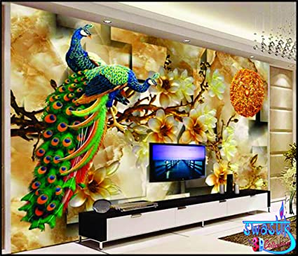 SWASTIK 3D Wallpaper Non Woven 12 X 10ft