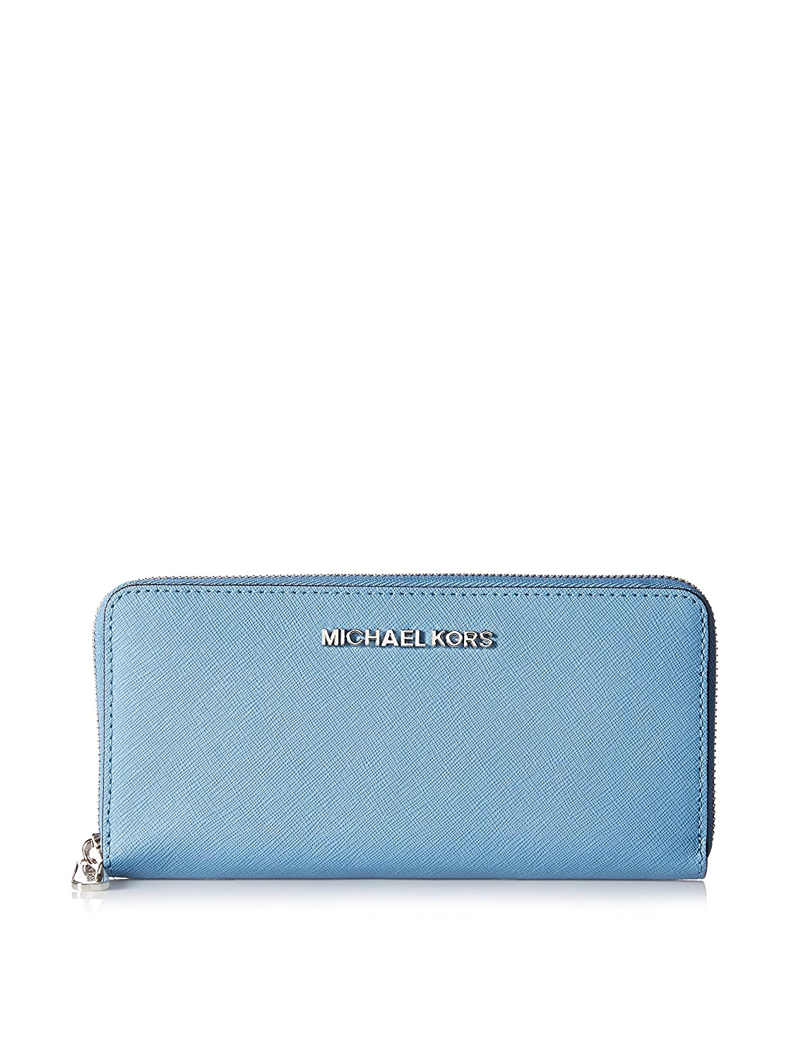 fa88834f2d70 Michael Michael Kors Travel Zip Around Continental Wallet (Sky) at Amazon  Women's Clothing store: