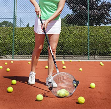 Roller 2 en 1 - Colector de Pelotas de Tenis y Bola Hopper Tiene ...