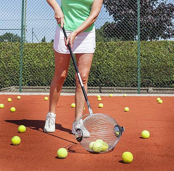 Roller 2 en 1 – Colector de Pelotas de Tenis y Bola Hopper Tiene ...