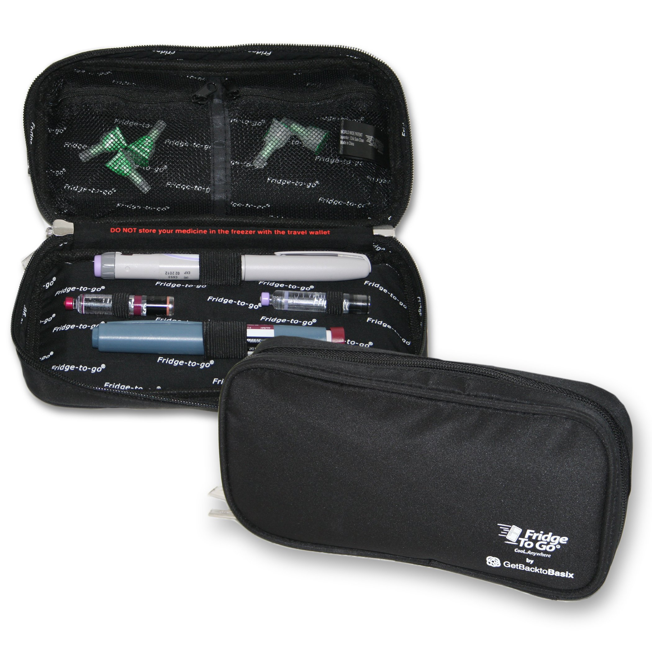 Amazon Com Insulpak Insulated Medication Travel Bag With Electronic Temp Display Cools Up To 30