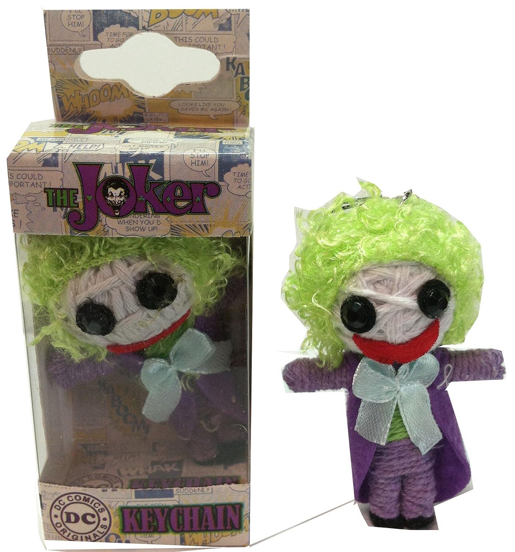 Licenses Products DC Comics Originals Joker String Doll Keychain C&D Visionary Inc. K-DC-0032-V