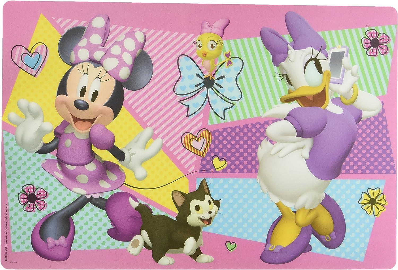 Zak Designs Kid's Placemat, Disney Minnie & Daisy, 1 Pc