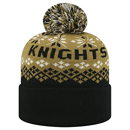 0c0df3b211c Image Unavailable. Image not available for. Color  Top of the World Central  Florida Knights Official NCAA Cuffed Knit Advisory Stocking Stretch Sock Hat