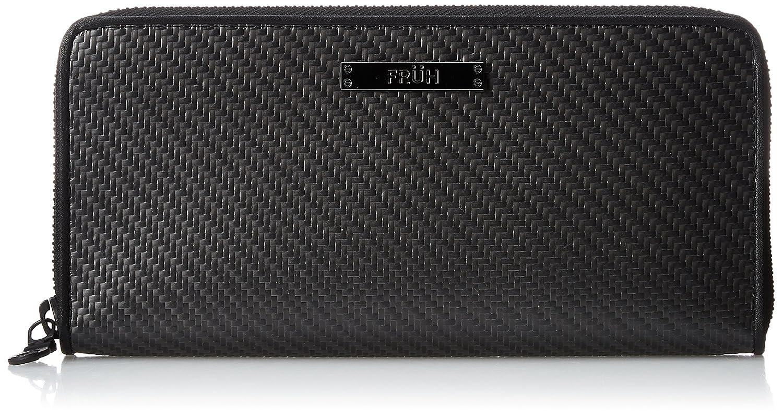 [フリュー] リアルカーボン 長財布 GL026  ブラック B075L9MQTW
