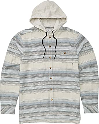 BILLABONG Baja Flannel Camisa con Cuello Abotonado para Hombre: Amazon.es: Ropa y accesorios