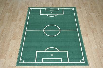 Tappeti Per Bambini Campo Da Calcio : Fussballteppich fussballplatz gioco campo fussballfeld tappeto prato