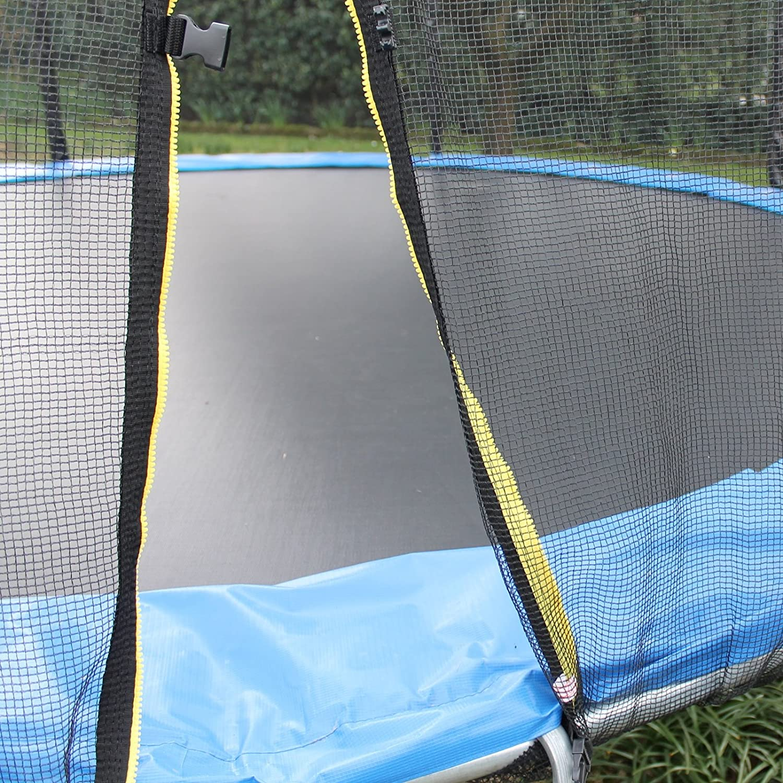 YELLOO Sport Trampolino Elastico Diametro 250 cm Tappeto Salto per Bambini Casa e Giardino