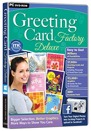 Greeting card factory deluxe pc amazon software greeting card factory deluxe pc m4hsunfo