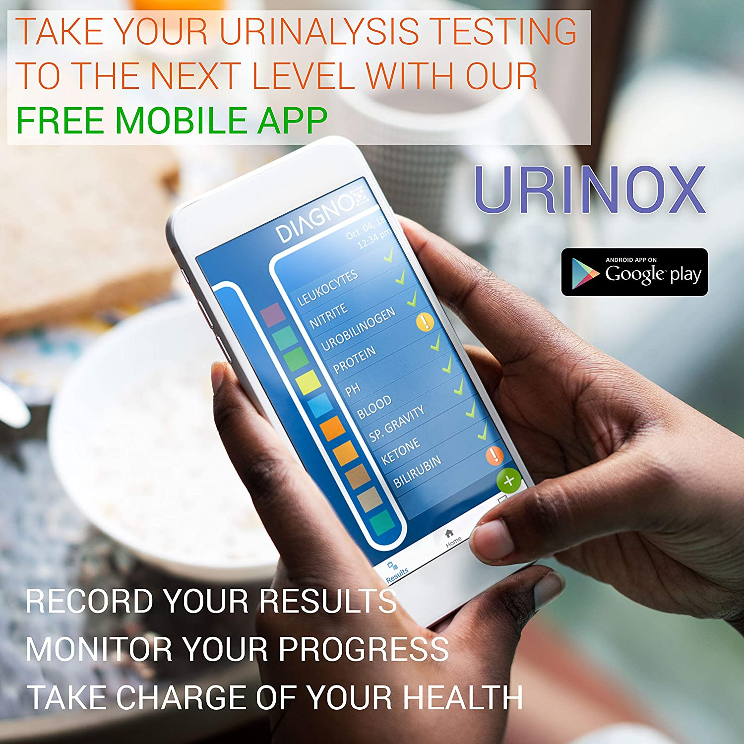 Multi-Parameter Urine Test Strip for Urinary Tract Infection UTI   Individually Packed, Clinically Tested with Mobile App   Medical Grade Urinalysis at Home   20 Pack: Industrial & Scientific