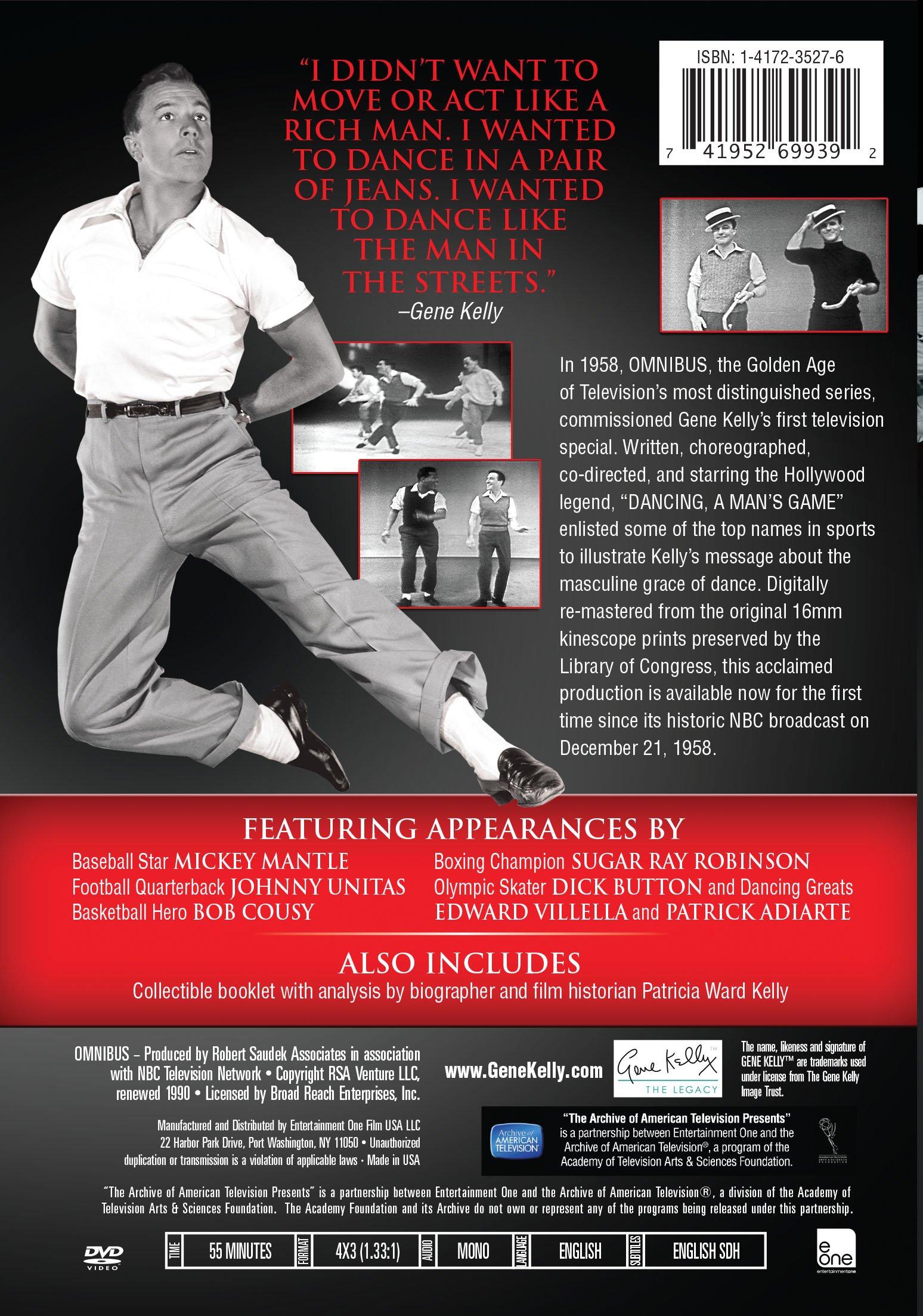 Omnibus:  Dancing, a Man's Game - Gene Kelly