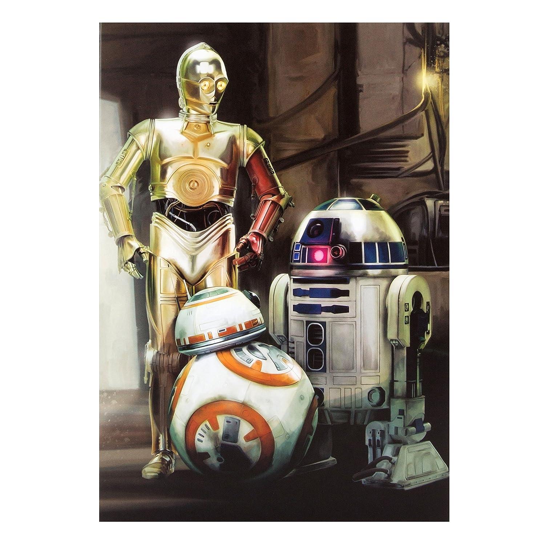 /Taille M Hallmark Carte Carte Star Wars caract/ères/