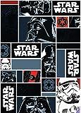 Associated Weavers 623135 Tapis Star Wars Icons Polyamide Noir 133 x 2 x 95 cm