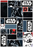 Associated Weavers 0309064 Star Wars I. Spielteppich, 95 x 133 cm, Nylon schwarz