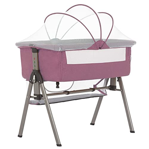 Dream On Me Lotus Bassinet Bedside Sleeper