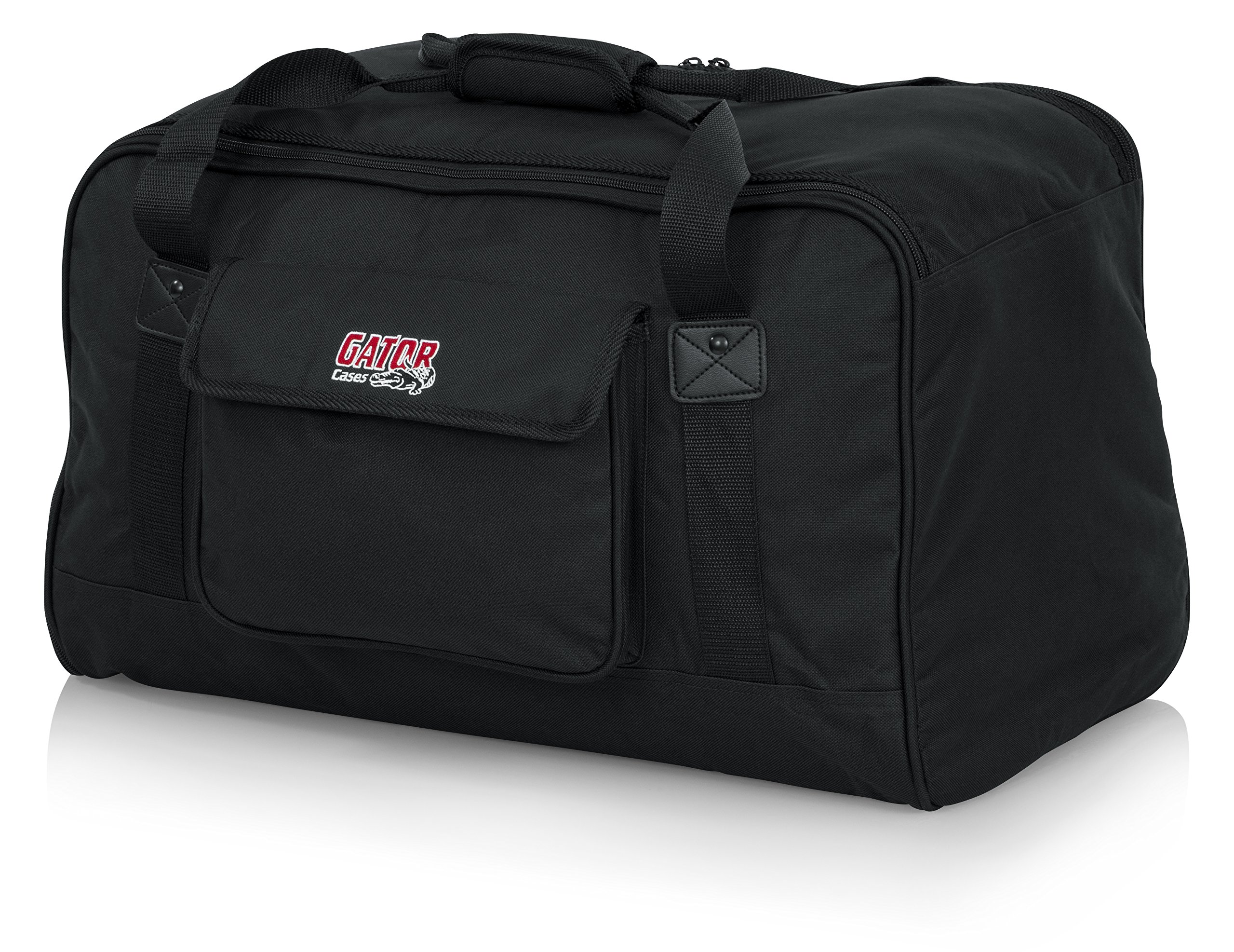 Gator Cases Heavy-Duty Speaker Tote Bag for Compact 10'' Speaker Cabinets; Fits QSC K10, Yamaha DXR10 and more (GPA-TOTE10)