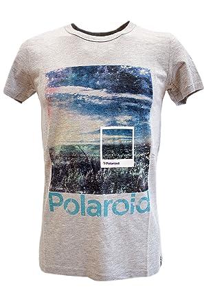 ESPRIT Herren Jersey T-Shirt mit Polaroid 3D Print Grau in XL ... 1f98bbc4e9