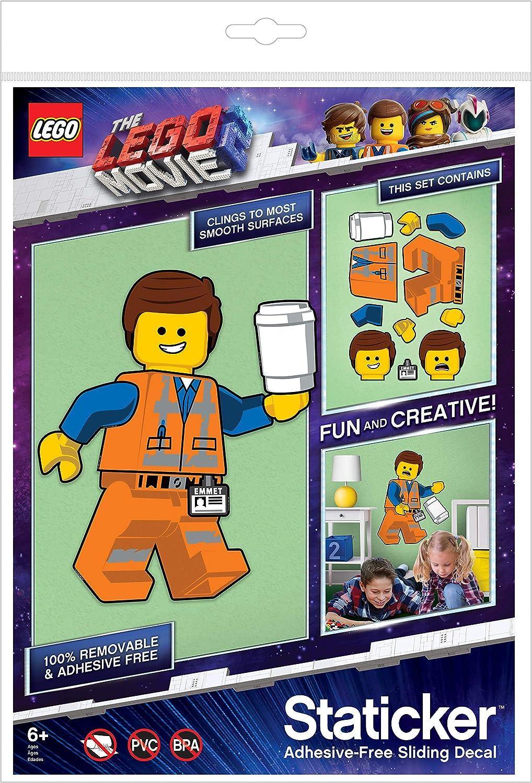 Mehrere Farben 52370 Lego Emmet Staticker Sticker Mural