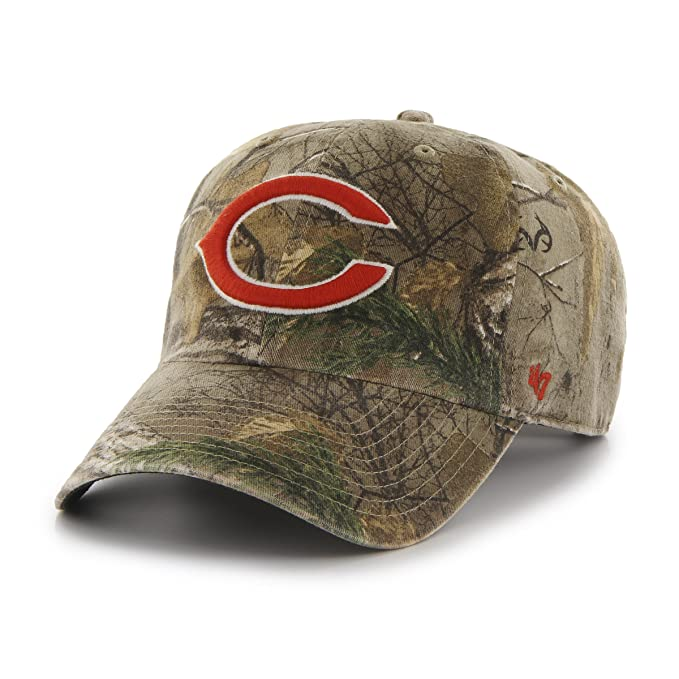 quite nice 176a6 2a9d9 NFL Chicago Bears  47 Brand Big Buck Clean Up Adjustable Hat (Realtree  Camouflage,