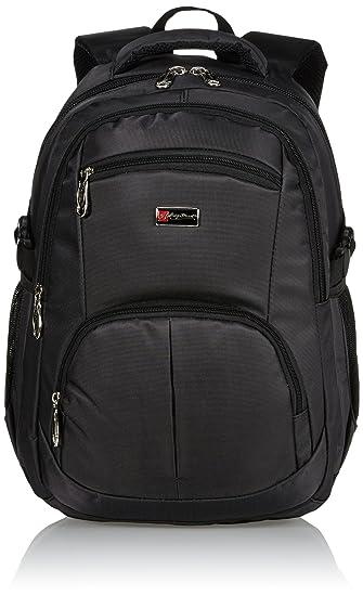 5b3476145c5da City Rucksack Schule Arbeit   Freizeit Bag Schulrucksack Sportrucksack  Backpack Laptoprucksack Laptopfach 15 quot  - schwarz
