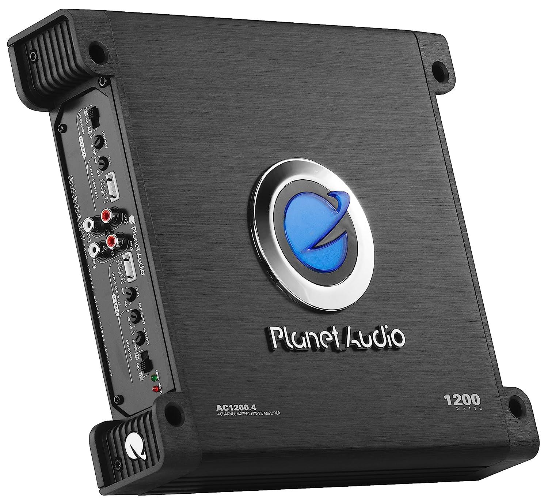 Amazon.com: Planet Audio AC1200.4 Anarchy 1200 Watt, 4 Channel, 2/8 Ohm  Stable Class A/B, Full Range, Bridgeable, MOSFET Car Amplifier: Car  Electronics