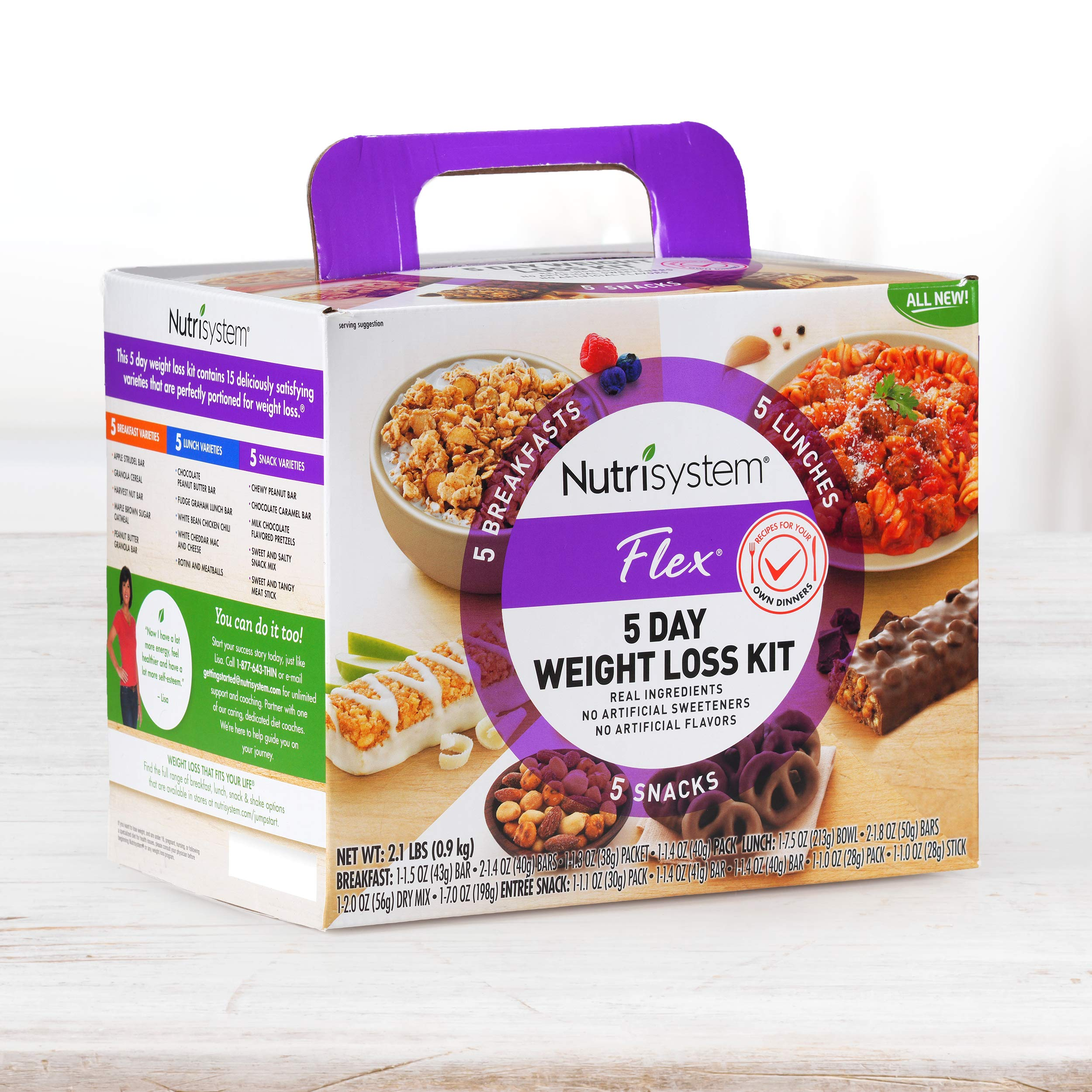 Nutrisystem® Flex 5 Day Weight Loss Kit