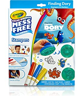 Amazon.com: Crayola, Color Wonder Mess-Free Coloring, Art Desk ...