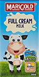 MARIGOLD Full Cream UHT Milk, Plain, 200ml (Pack of 24)