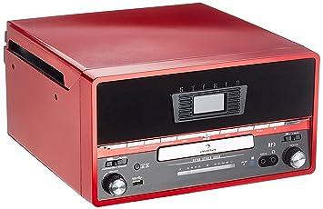 Auna RTT 1922 Tocadiscos estéreo retro: Amazon.es: Electrónica