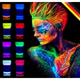 Amazon Price History for:8 x UV Body Paint Black Light Make-Up Bodypainting Neon Blacklight Bodypaint Face Paints