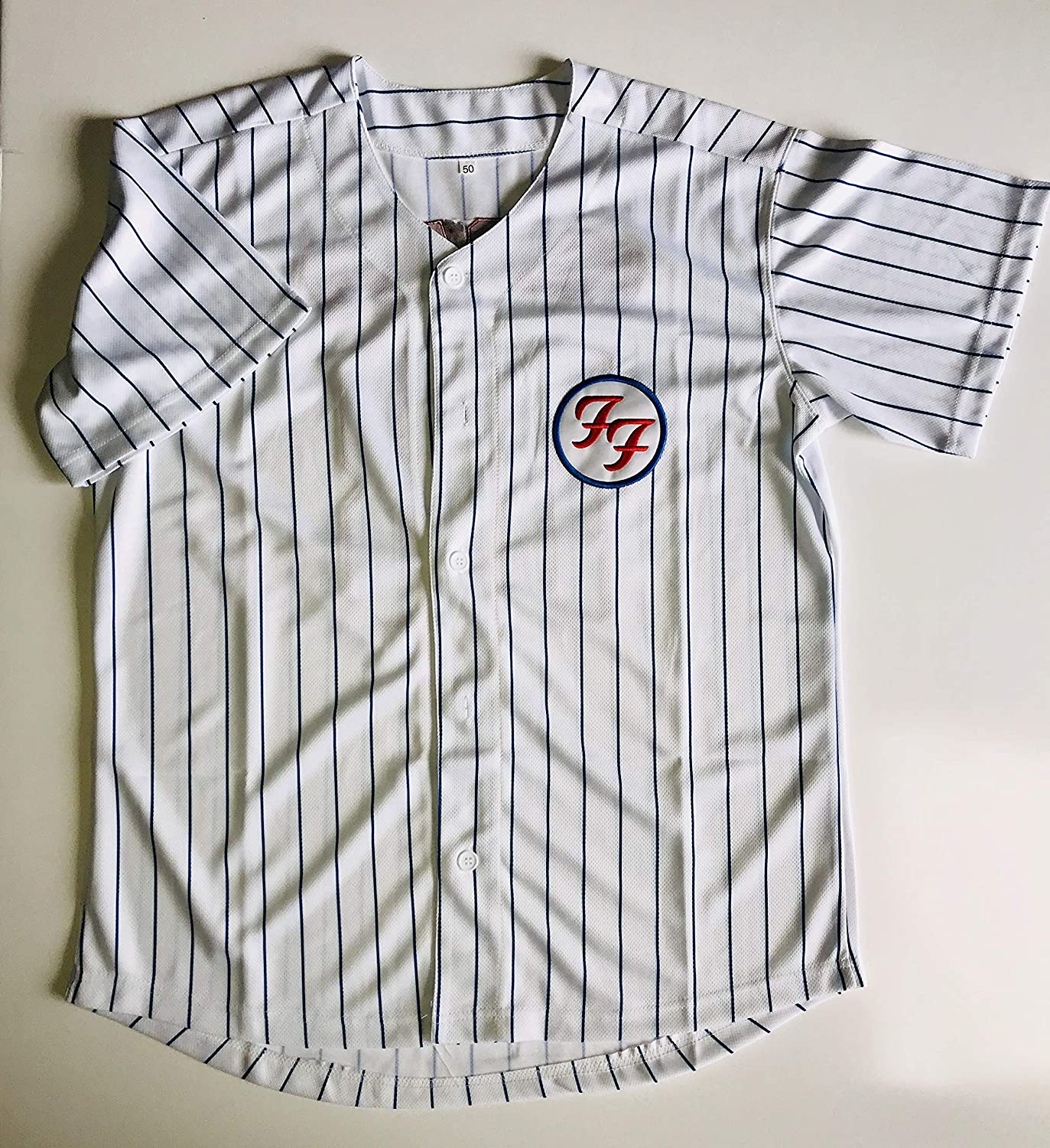 Foo Fighters jersey chicago cubs wrigley field baseball large 2018 tour new