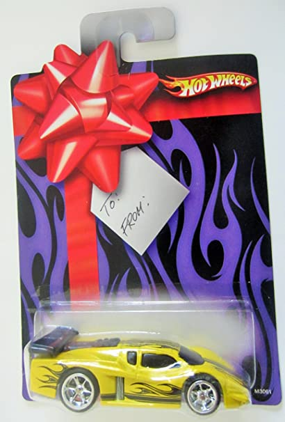 Amazon Com Hot Wheels 2007 Holiday Gift Card Gt Racer Wal Mart